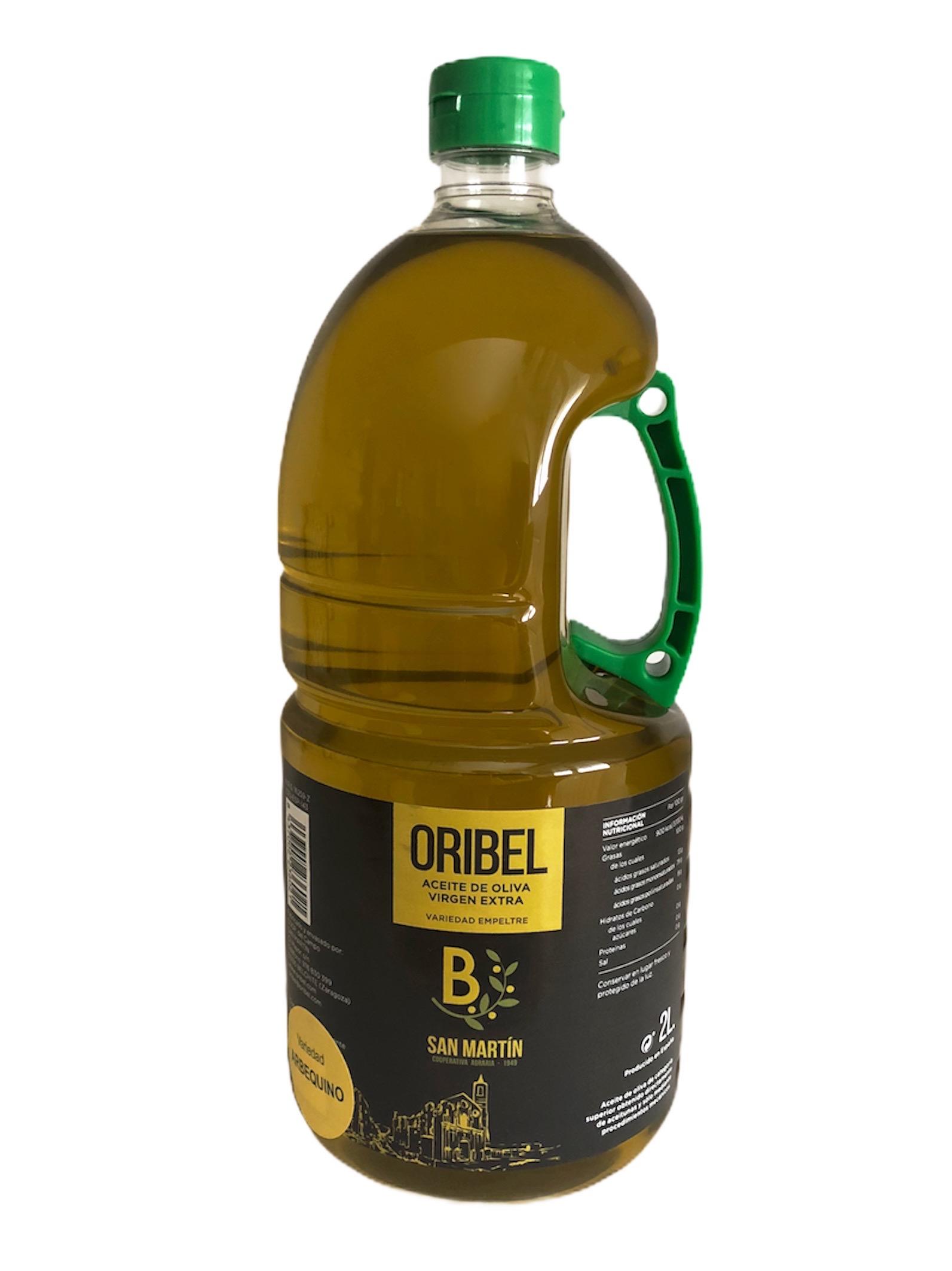 Aceite de oliva virgen extra Arbequino 2L