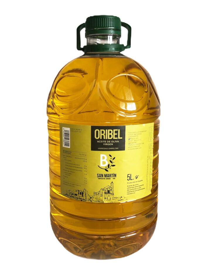 Aceite de oliva virgen Empeltre 5l