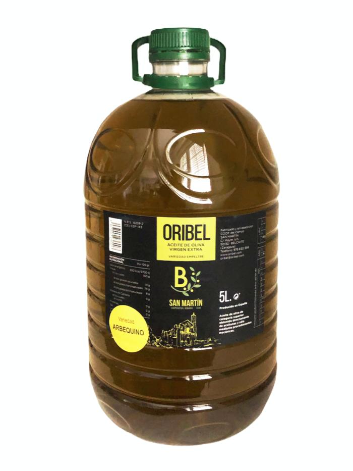 Aveite oliva virgen extra Arbequino