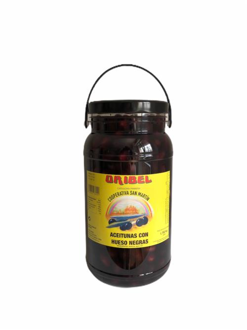 Aceitunas negras con hueso Empeltre